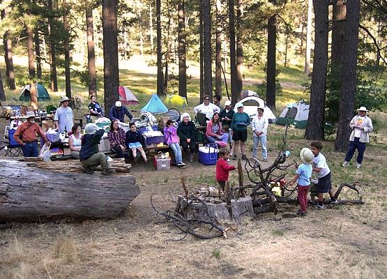 UUFSD Camp de Benneville Pines